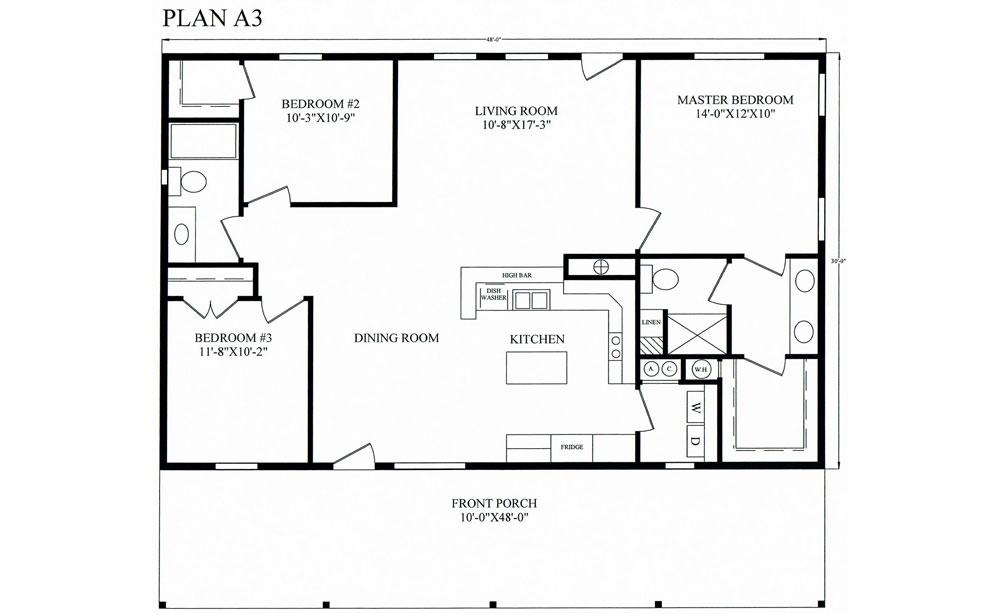Floor Plans Homestead Barndominiums
